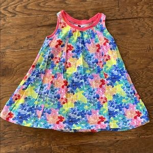 Tea Collection multicolored trapeze dress, 2T